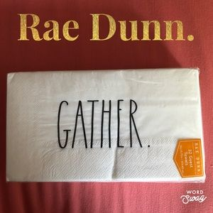 Rae Dunn. Guest Towels Napkins Gather. 32 pack